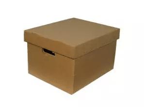 caja de archivo de carton