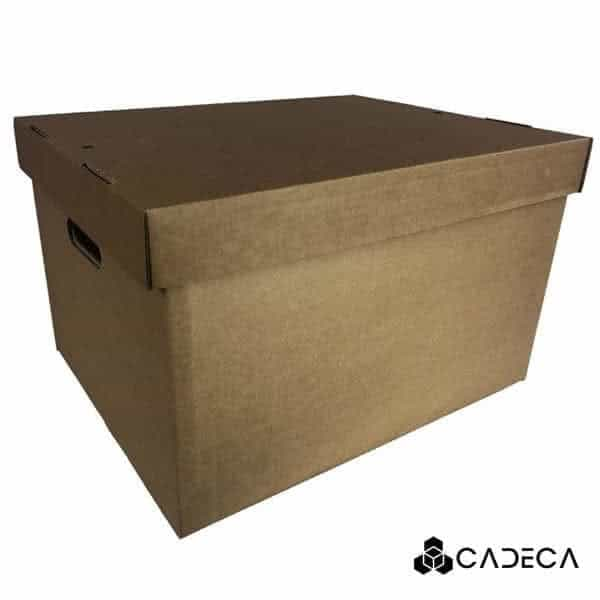 cajas de carton de archivo emergente