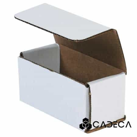 4 x 2 x 2 sobres de cartón corrugado blanco 50 / paquete