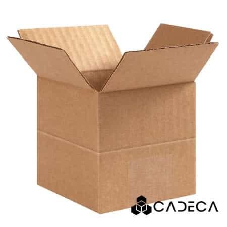 4 x 4 x 4 Cajas de cartón ondulado de profundidad múltiple 25 / paquete