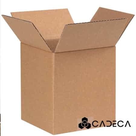 4 x 4 x 5 Corrugated Boxes 25/Bundle