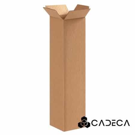 4 x 4 x 16 cajas de cartón ondulado 25 / paquete