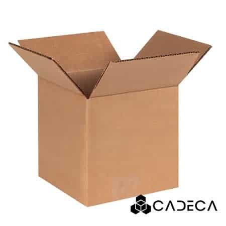 6 x 6 x 6 cajas de servicio pesado 25 / paquete