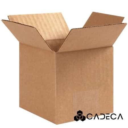 3 x 3 x 3 cajas de cartón ondulado 25 / paquete