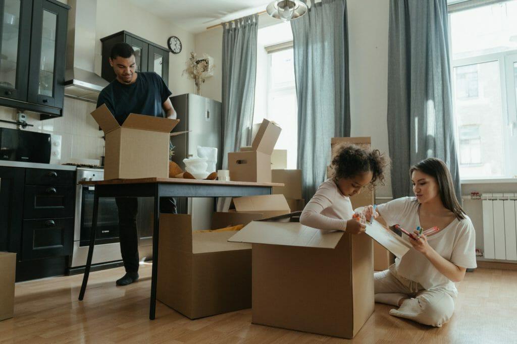reutilizar cajas de cartón
