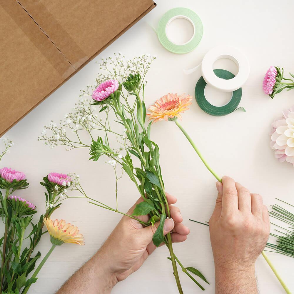 enviando flores