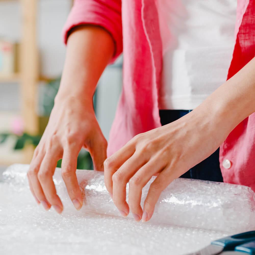 cómo empacar artículos frágiles